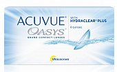 Контактные линзы Acuvue Oasys with Hydraclear Plus, 6 pk -8,00 (8,4), Джонсон и Джонсон